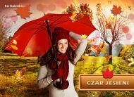 eKartki elektroniczne z tagiem: e-Kartki jesień Czar jesieni,