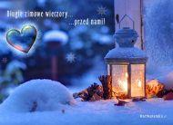 eKartki elektroniczne z tagiem: Zima D³ugie zimowe wieczory,