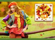 eKartki elektroniczne z tagiem: e-Kartki jesień Jesienna randka,