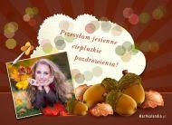 eKartki Cztery Pory Roku Jesienne pozdrowienia,