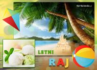 eKartki elektroniczne z tagiem: Lato Letni raj,