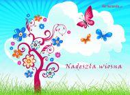 eKartki elektroniczne z tagiem: e-Kartki wiosenne Nadesz³a wiosna,