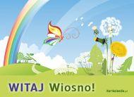 eKartki Cztery Pory Roku Powitanie wiosny,