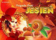 eKartki Cztery Pory Roku Przysz³a Pani Jesieñ,