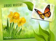 eKartki Cztery Pory Roku Uroki wiosny,