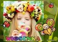 eKartki elektroniczne z tagiem: e-Kartki wiosenne Wiosenka,