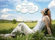 eKartki elektroniczne z tagiem: e-Kartki wiosenne Wyjed¼my za miasto,
