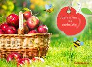 eKartki Cztery Pory Roku Zaproszenie na jabłuszka,