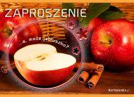 eKartki elektroniczne z tagiem: Jesieñ Zaproszenie na owocowy deser,