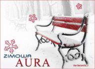eKartki Cztery Pory Roku Zimowa aura,