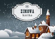 eKartki Cztery Pory Roku Zimowa kartka,