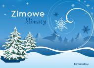 eKartki Cztery Pory Roku Zimowe klimaty,