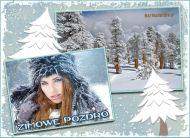 eKartki elektroniczne z tagiem: Zima Zimowe pozdro,