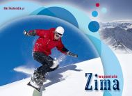 eKartki Cztery Pory Roku Zimowe przyjemności,
