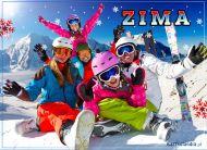 eKartki elektroniczne z tagiem: e-Kartki cztery pory roku Zima,