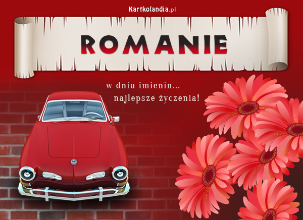 Kartka dla Romana