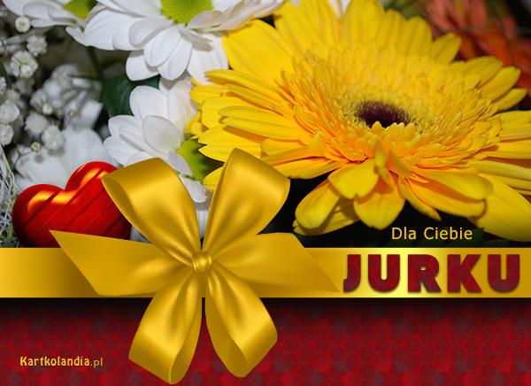 Kartka dla Jurka