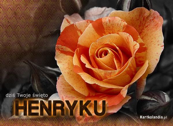 Życzenia dla Henryka
