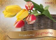 eKartki Imienne mêskie Tulipany dla Szymona,