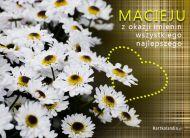 eKartki Imienne mêskie ¯yczenia dla Macieja,