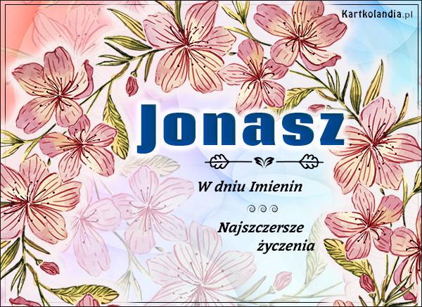 eKartki elektroniczne z tagiem: Życzenia na imieniny Jonasz - W dniu Imienin...,