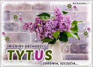 eKartki Imienne Męskie Imieniny obchodzi Tytus,