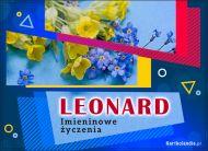 eKartki Imienne Męskie Leonard - Imieninowe Życzenia,