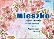 eKartki Imienne Męskie Mieszko - W dniu Imienin...,