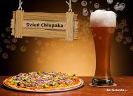 eKartki Dzieñ Ch³opaka Pizza na Dzieñ Ch³opaka,