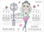 eKartki elektroniczne z tagiem: Kartka dla Mê¿czyzny Randka w Dzieñ Ch³opaka,