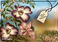 eKartki elektroniczne z tagiem: Kartka dla Mężczyzny Kwiaty w Dniu Mężczyzny,