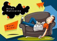 eKartki elektroniczne z tagiem: Kartka dla Mężczyzny Męski dzień,