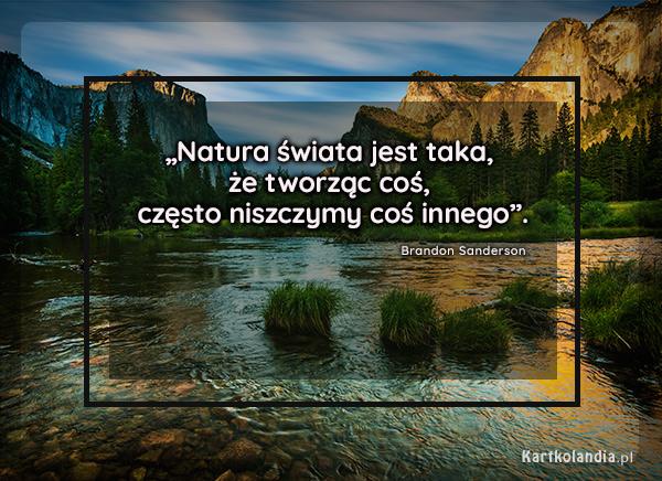 eKartki Złote Myśli Natura świata,