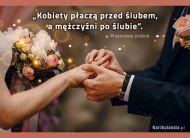 eKartki Złote Myśli Po ślubie...,