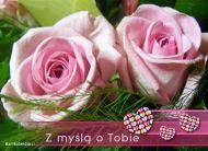 eKartki Kwiaty Z my¶l± o Tobie,