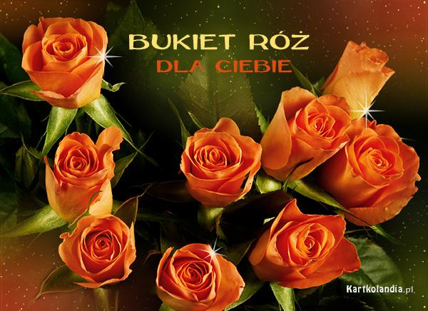 Bukiet róż dla Ciebie
