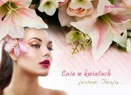 eKartki Kwiaty Ca³a w kwiatach,