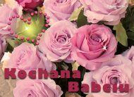 eKartki Kwiaty Kochana Babciu,