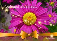 eKartki Kwiaty Kochanej Siostrze,