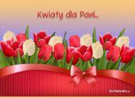 eKartki Kwiaty Kwiaty dla Pani,