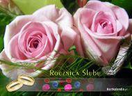 eKartki Kwiaty Rocznica ¦lubu,