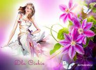 eKartki Kwiaty Romantyczna kartka,