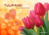 eKartki Kwiaty Tulipanki dla Kochanki,