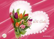 eKartki Kwiaty W moim sercu kwiaty,