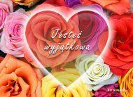 eKartki Kwiaty W sercu kwiaty,