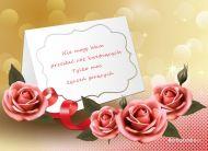 eKartki Kwiaty Życzenia gorące,