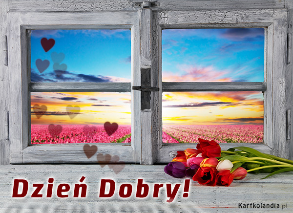 Kwiaty na Dzieñ Dobry