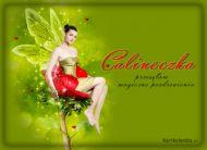 eKartki Kwiaty Calineczka,