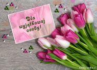 eKartki Kwiaty Dla wyjątkowej osoby,