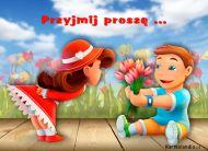 eKartki Kwiaty Przyjmij proszê!,